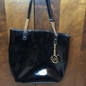 Michael Kors- Patent Leather Tote Bag
